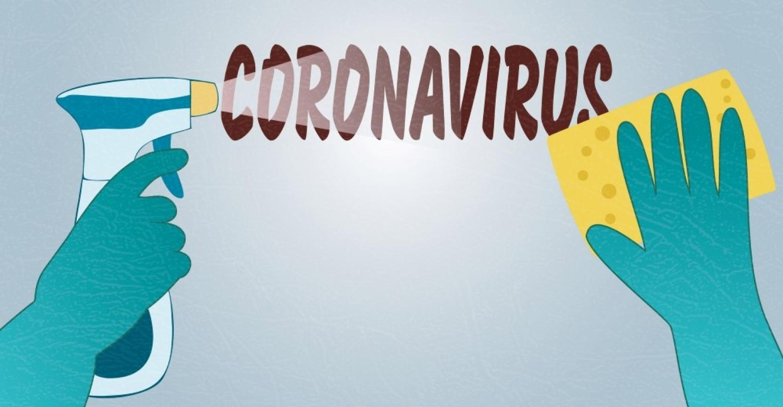 Koronavírus takarítás